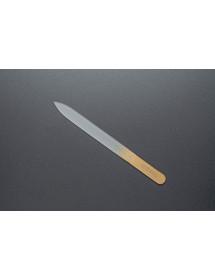 Пилка скляна Zinger 2-х стороння 140 мм (zo-FG-02-14-GOLD)