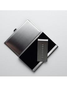 Подарунковий набір Zinger: візитниця; кліп для грошей (Zo-GSN-02002)