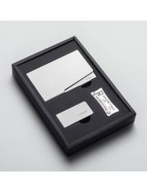 Подарунковий набір Zinger: візитниця; кліп для грошей (Zo-GSN-02006)