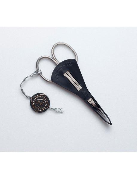Манікюрні ножиці для кутикули Zinger gea-11 (zSPr-1303-PB-SH-Salon)